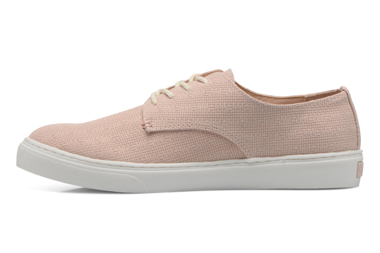 Chaussures à lacets Bugatti Roxy V6601-6N Rose vue face