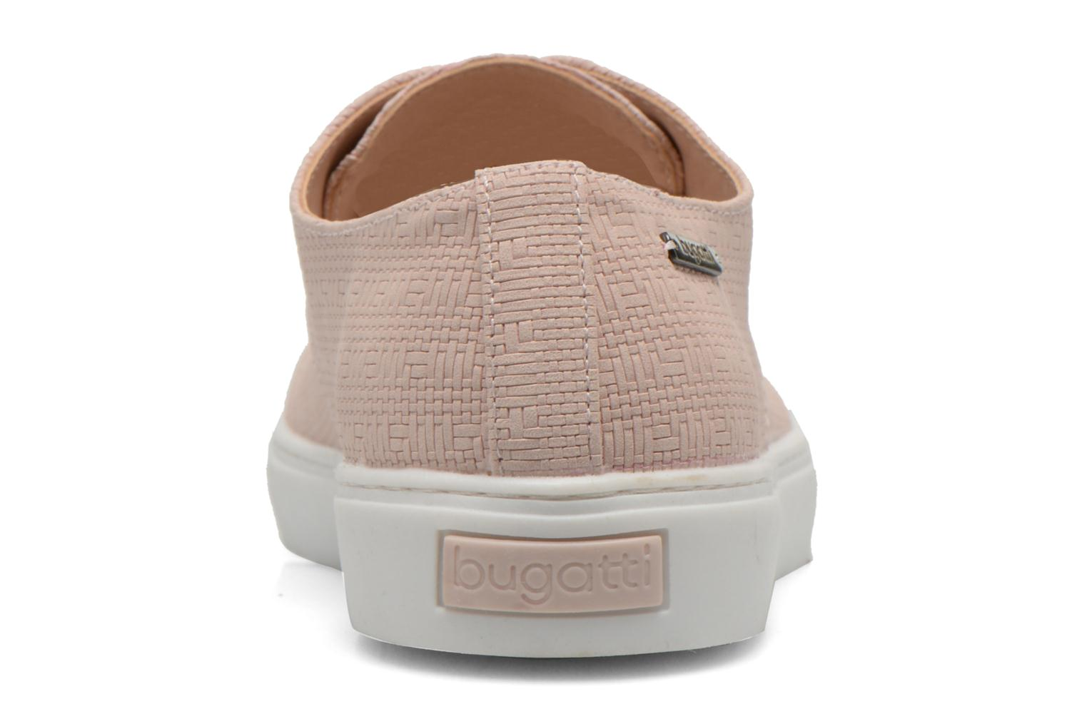 Lace-up shoes Bugatti Roxy V6601-6N Pink view from the right