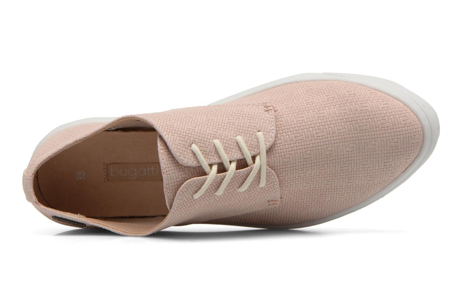 Lace-up shoes Bugatti Roxy V6601-6N Pink view from the left