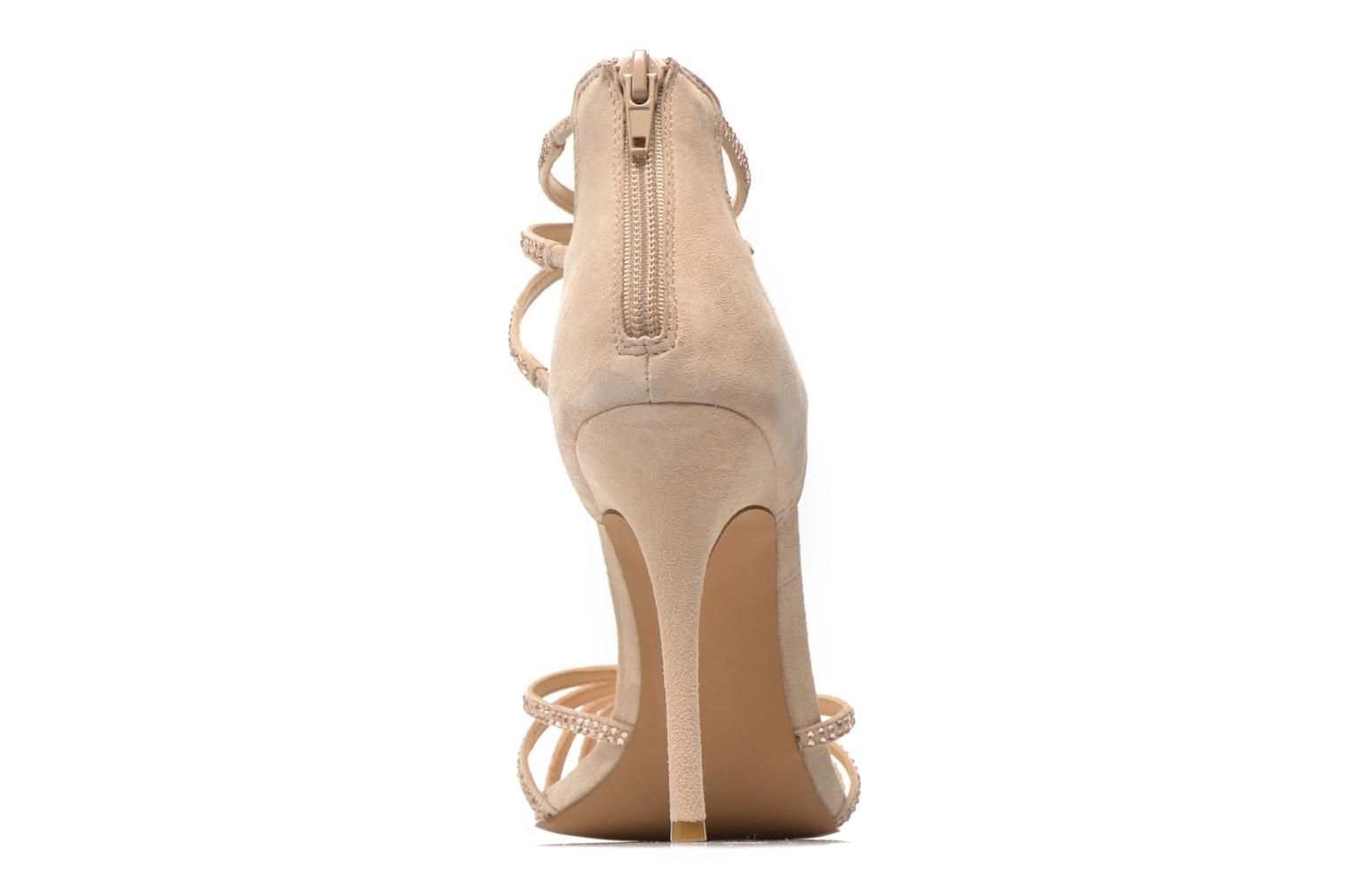 Sandals Steve Madden CAPPER Beige view from the right