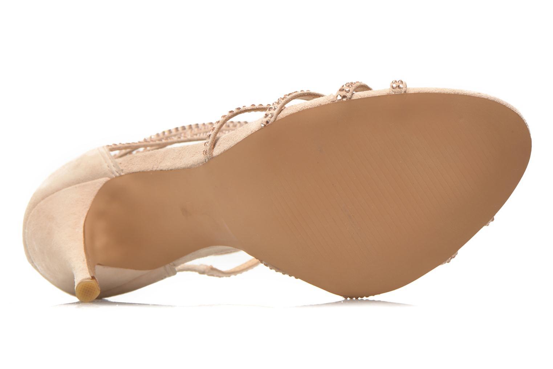 Sandales et nu-pieds Steve Madden CAPPER Beige vue haut