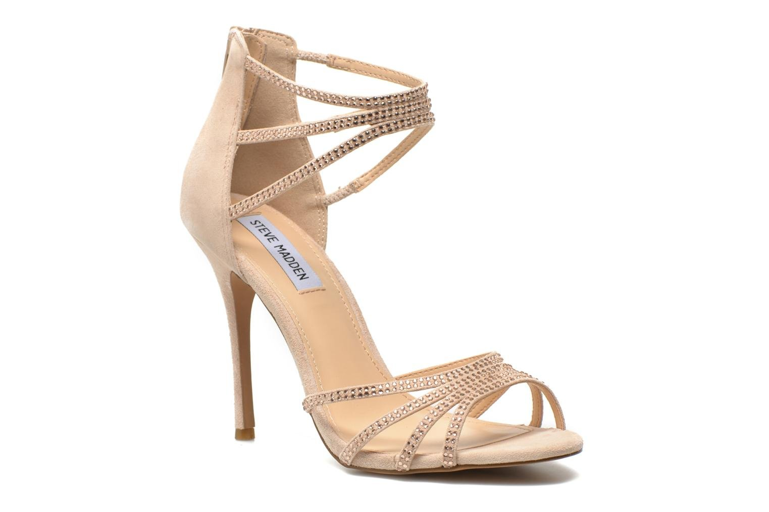 Sandals Steve Madden CAPPER Beige detailed view/ Pair view