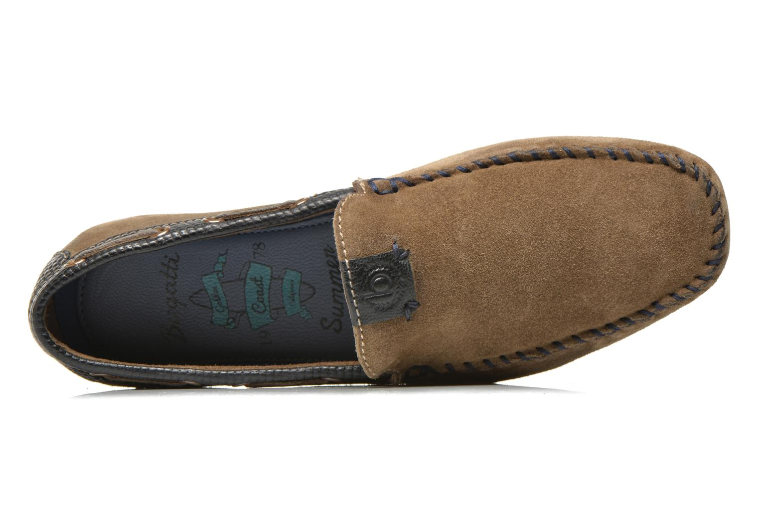 Loafers Bugatti Berokee Grey view from the left