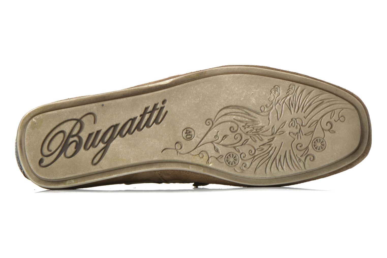 Mocassins Bugatti Berokee Gris vue haut