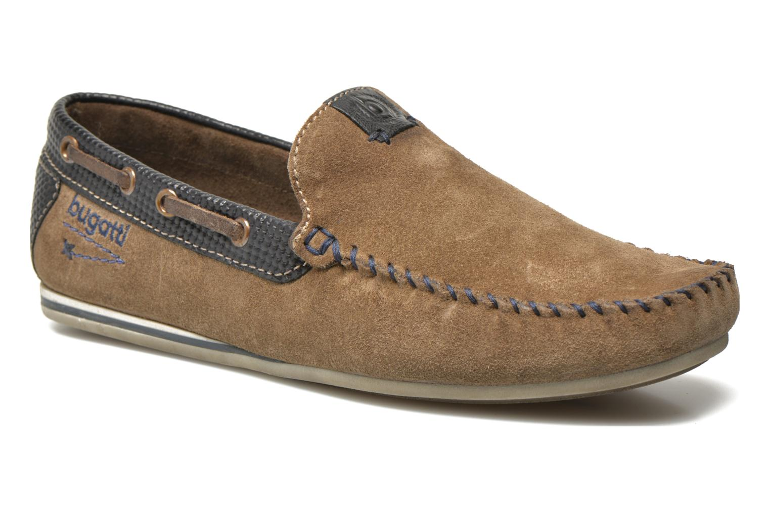 Loafers Bugatti Berokee Grey detailed view/ Pair view
