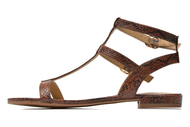 Sandalen Esprit Aely Bis Sandal braun ansicht von vorne