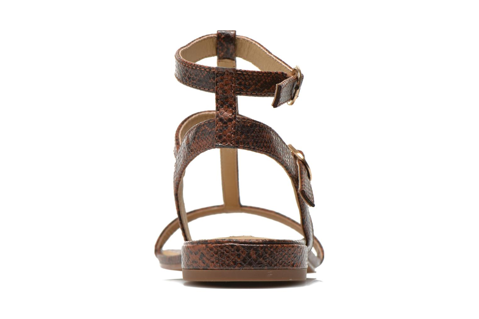 Aely Bis Sandal Rust Brown