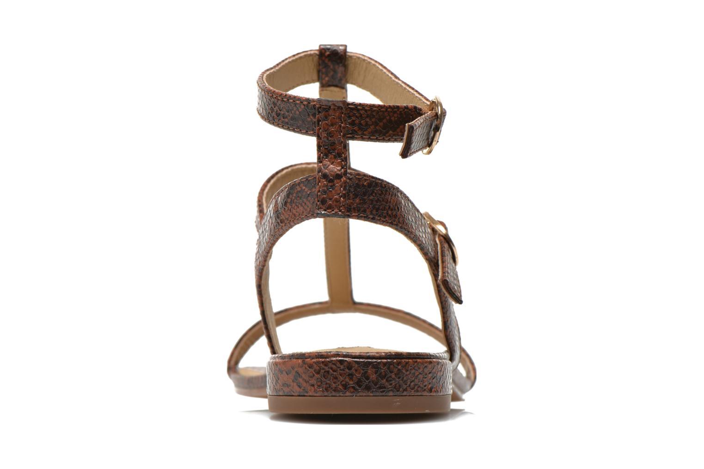 Sandales et nu-pieds Esprit Aely Bis Sandal Marron vue droite