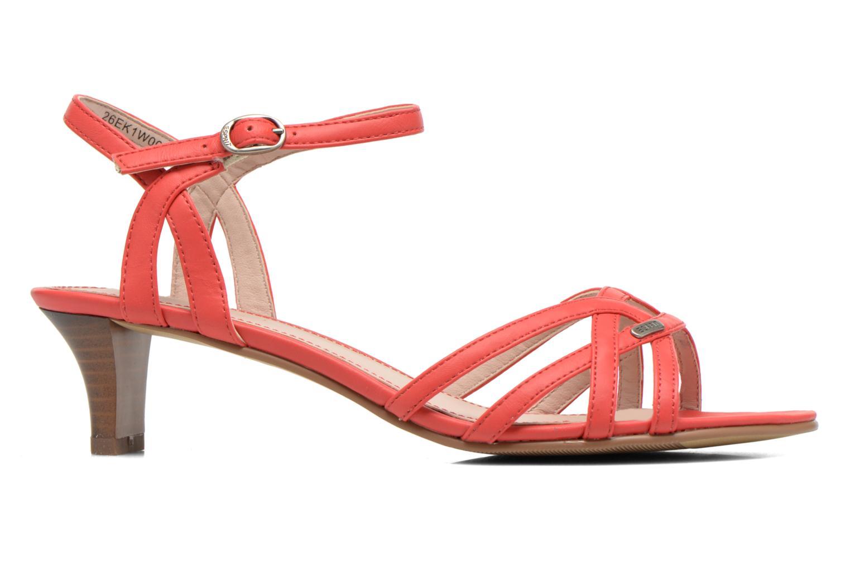 Sandalen Esprit Birkin Sandal rot ansicht von hinten