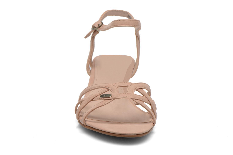 Sandales et nu-pieds Esprit Birkin Sandal Beige vue portées chaussures