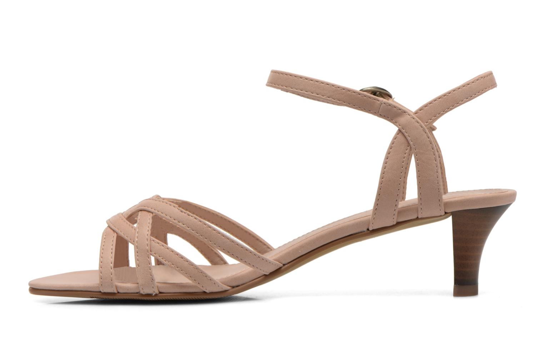 Sandales et nu-pieds Esprit Birkin Sandal Beige vue face