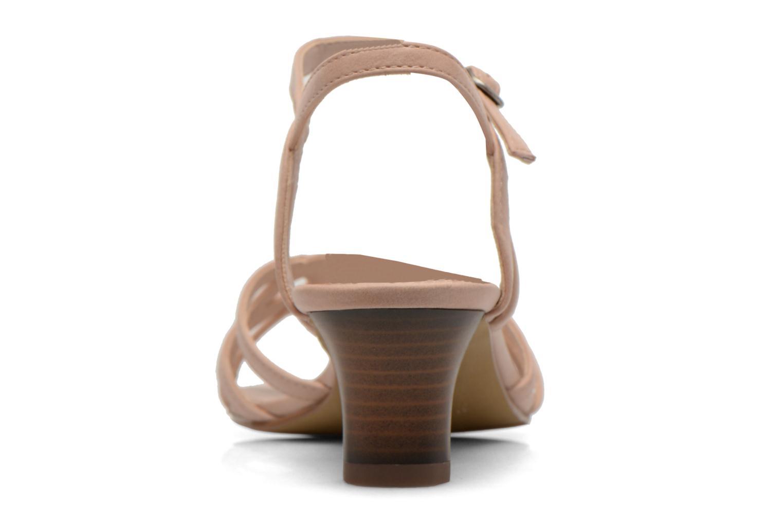 Sandales et nu-pieds Esprit Birkin Sandal Beige vue droite