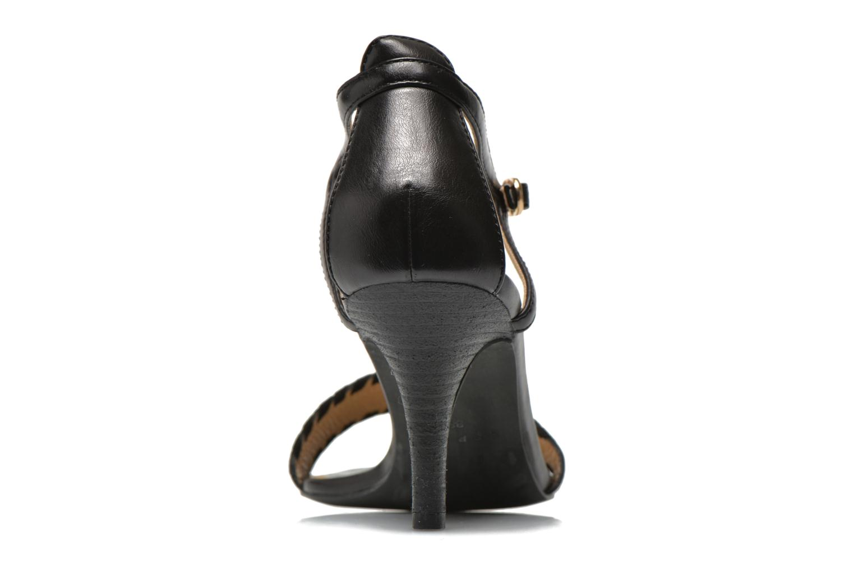 Sandalen Esprit Dor Bis Sandal Zwart rechts