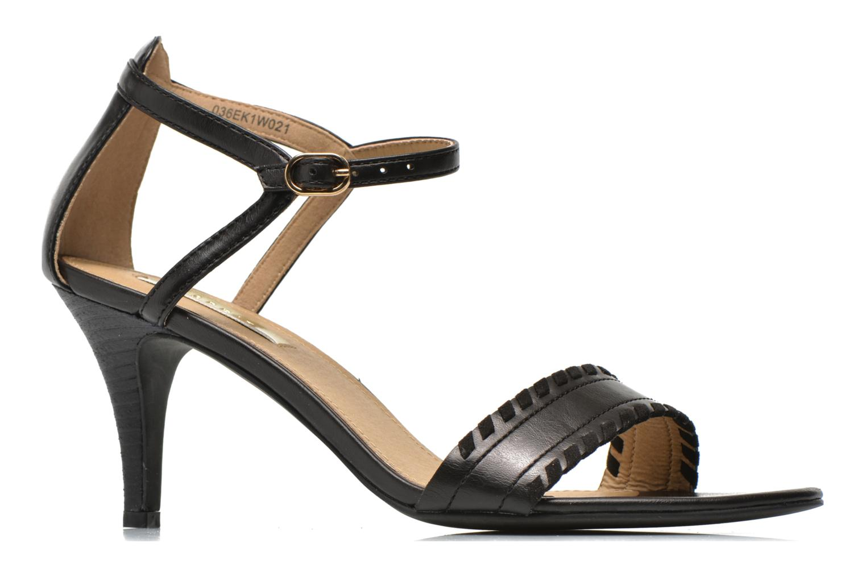 Sandalen Esprit Dor Bis Sandal Zwart achterkant