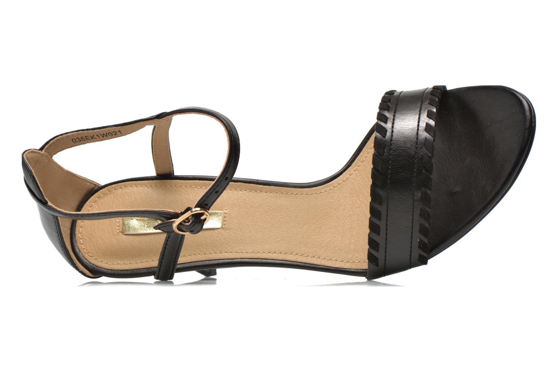 Sandalen Esprit Dor Bis Sandal Zwart links