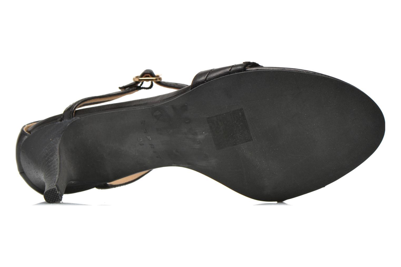Sandales et nu-pieds Esprit Dor Bis Sandal Noir vue haut