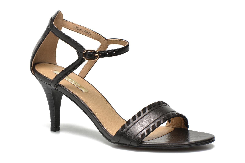 Sandalen Esprit Dor Bis Sandal Zwart detail