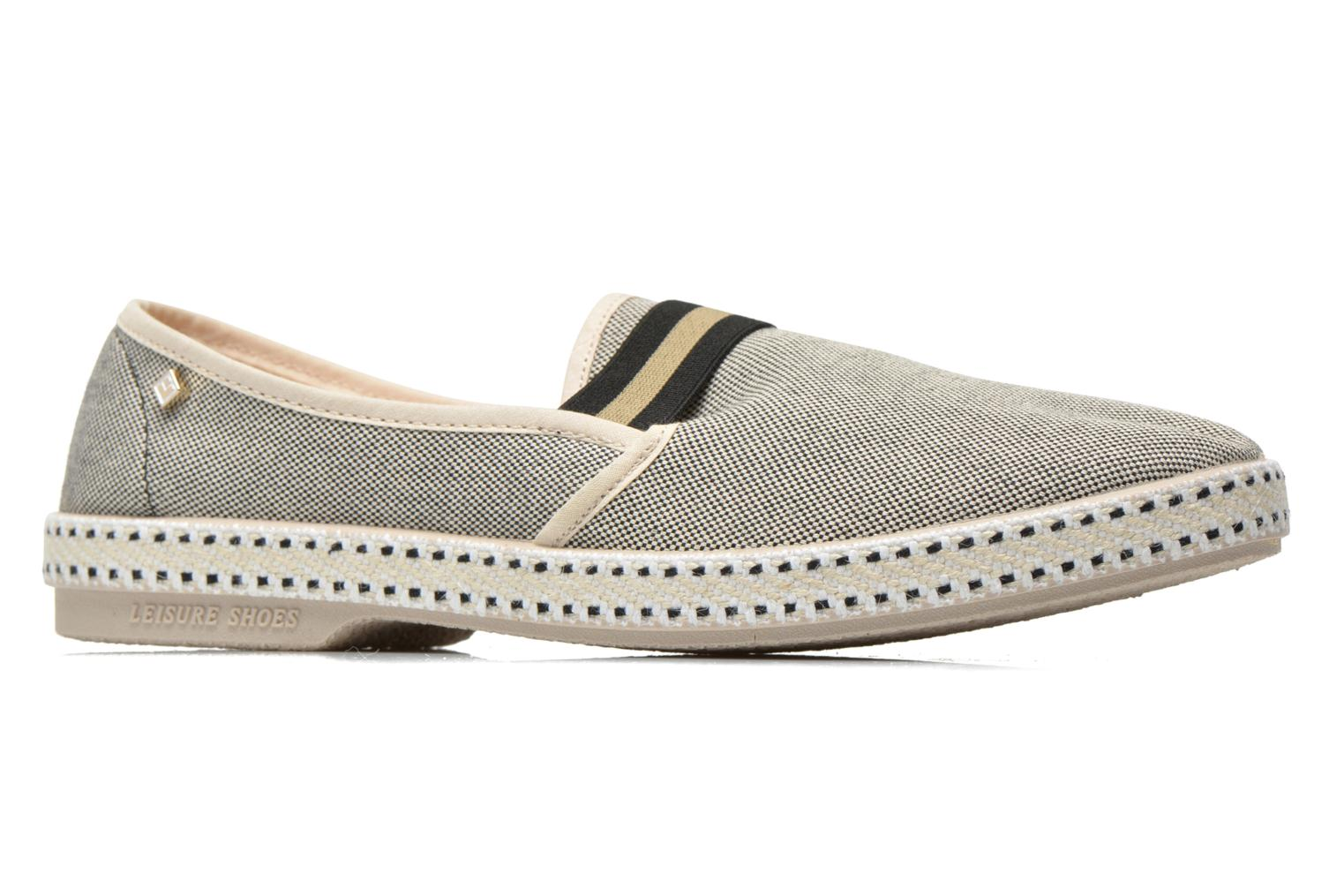 Loafers Rivieras College Beige se bagfra