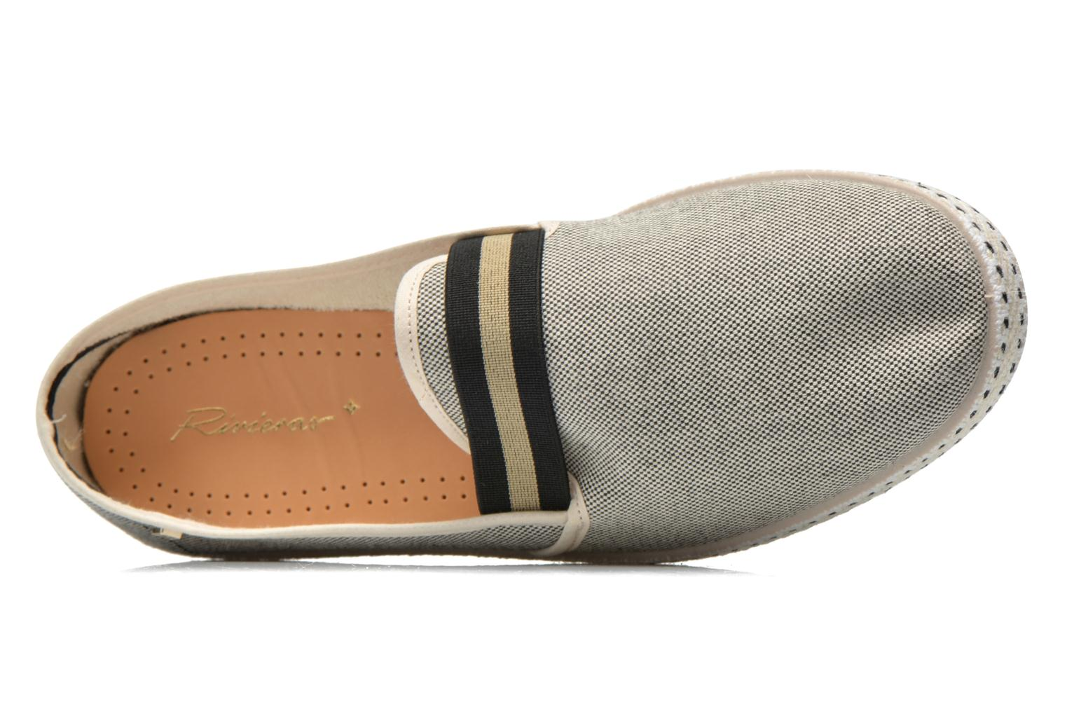 Loafers Rivieras College Beige view from the left