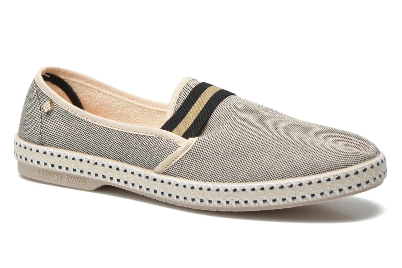 Loafers Rivieras College Beige detaljeret billede af skoene
