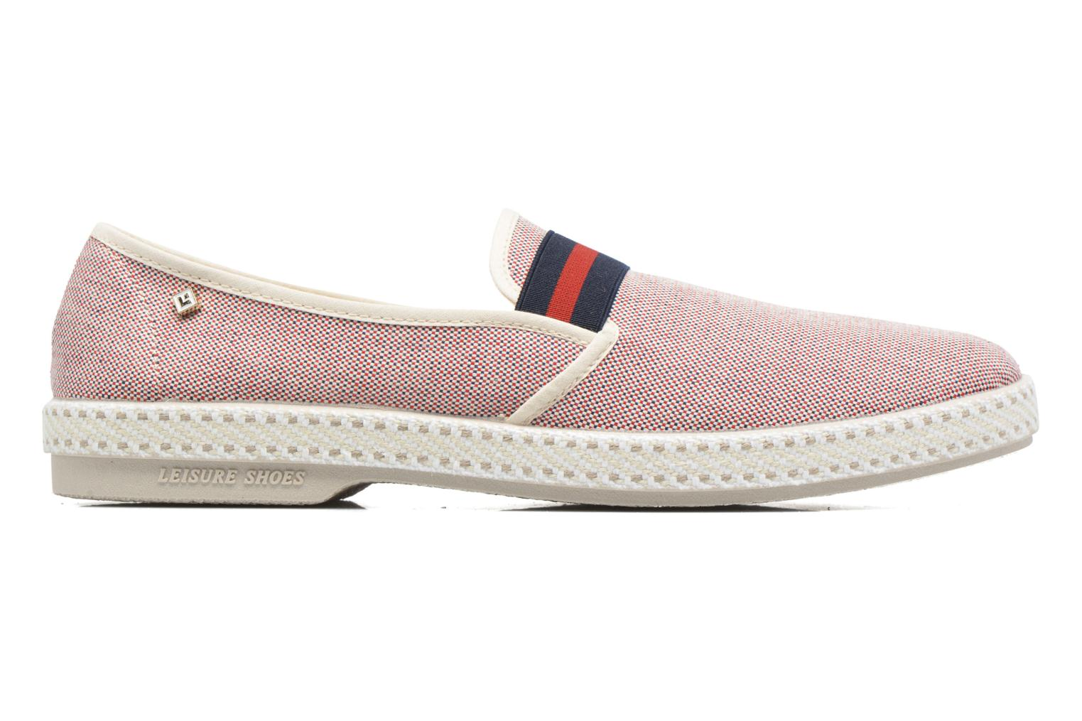 Loafers Rivieras College Red back view