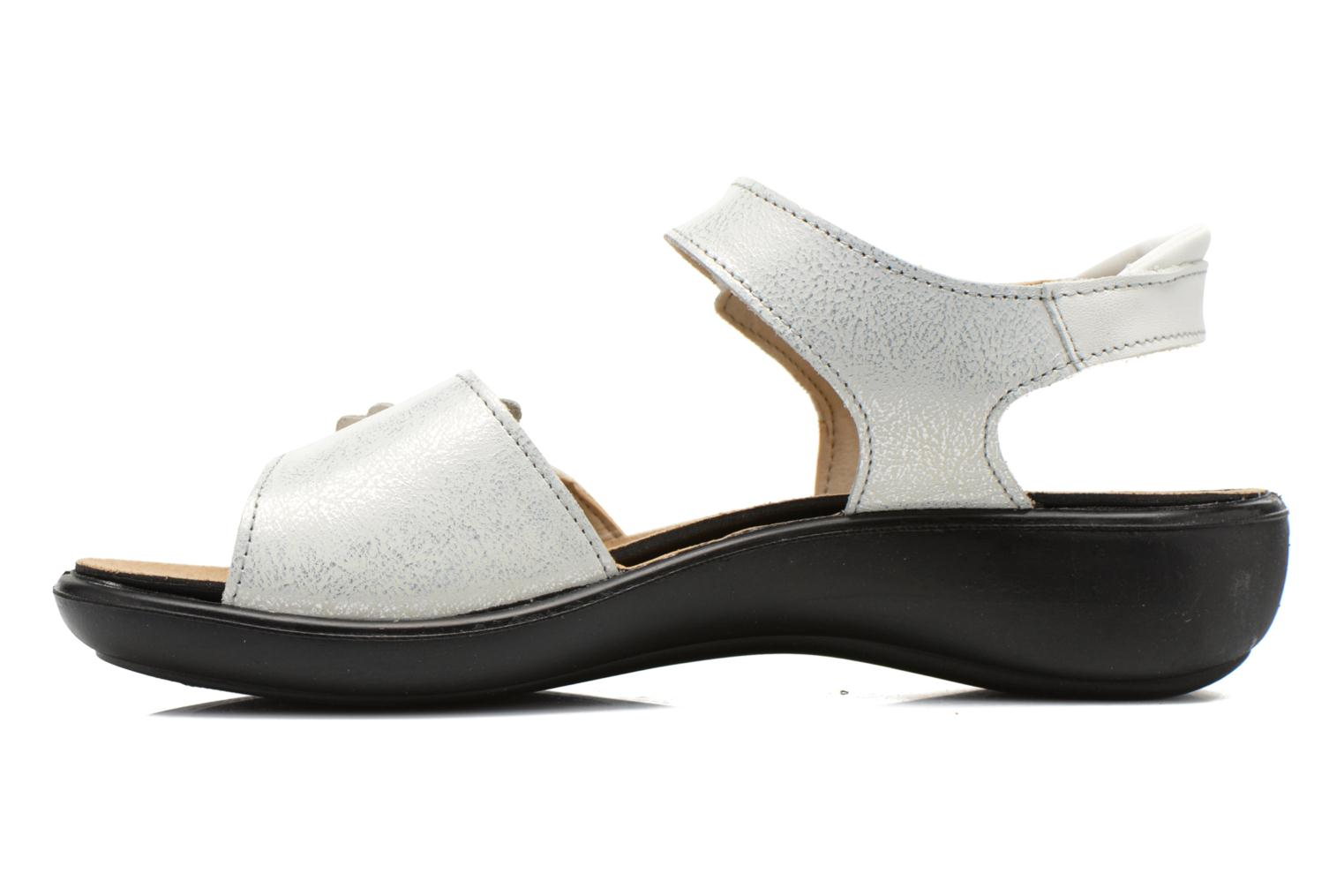 Sandals Romika Ibiza 67 Silver front view