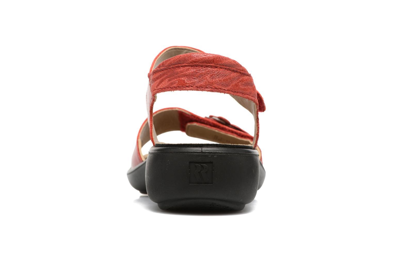 Sandales et nu-pieds Romika Ibiza 67 Rouge vue droite
