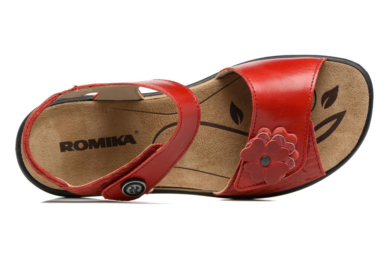 Sandales et nu-pieds Romika Ibiza 67 Rouge vue gauche