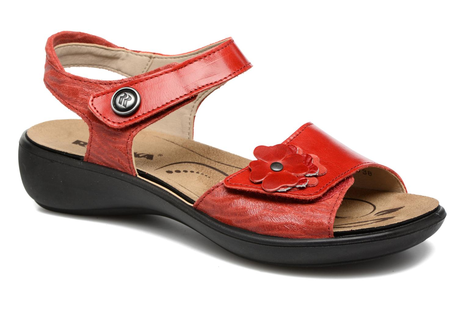 Marques Chaussure femme Romika femme Ibiza 67 Rouge-Coral