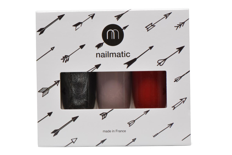 Cuidados y belleza pies Nailmatic Pack de pintauñas Negro vista del modelo