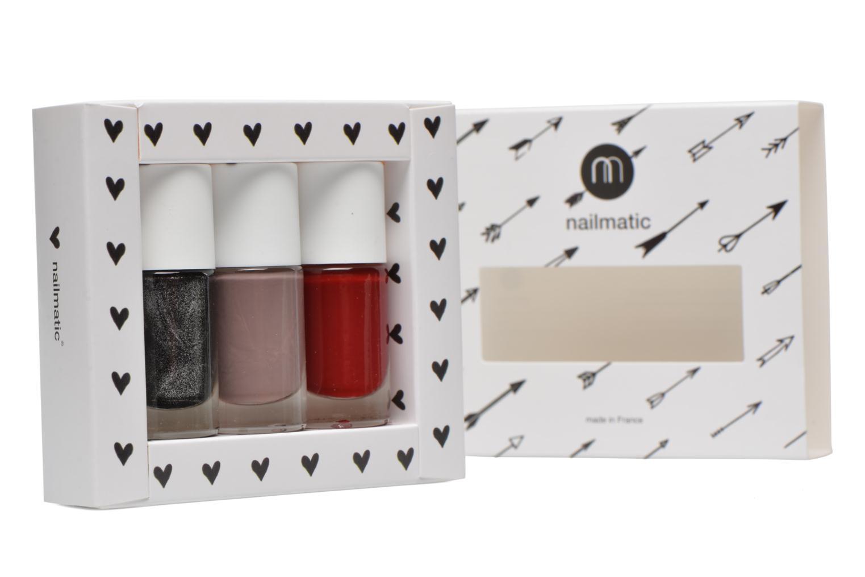 Cuidados y belleza pies Nailmatic Pack de pintauñas Negro vista de frente