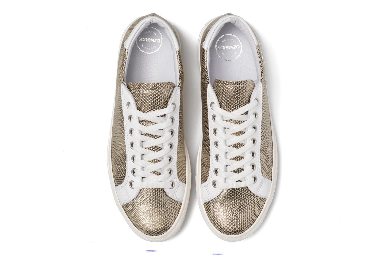 Sneaker Made by SARENZA Seven Tease #2 gold/bronze schuhe getragen