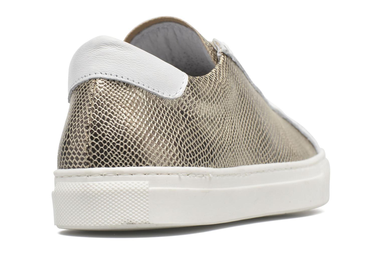 Sneaker Made by SARENZA Seven Tease #2 gold/bronze ansicht von vorne