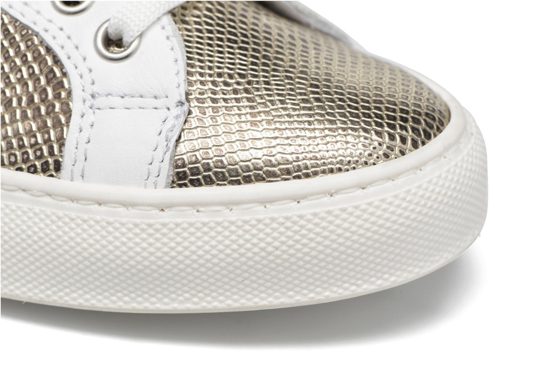 Sneaker Made by SARENZA Seven Tease #2 gold/bronze ansicht von links