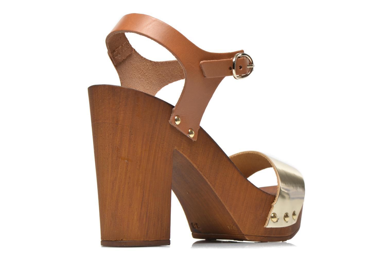 Sandalen Made by SARENZA Discow Girl #8 braun schuhe getragen