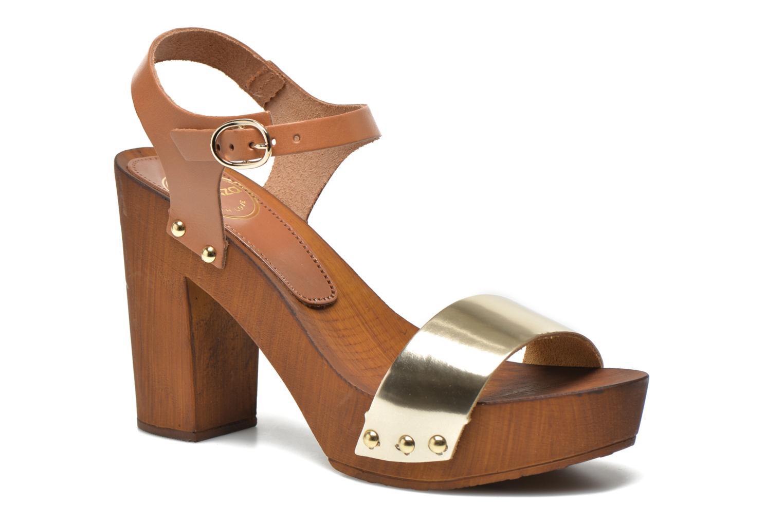 Sandalen Made by SARENZA Discow Girl #8 braun ansicht von vorne