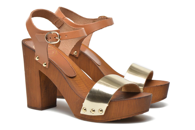 Sandalen Made by SARENZA Discow Girl #8 braun ansicht von rechts