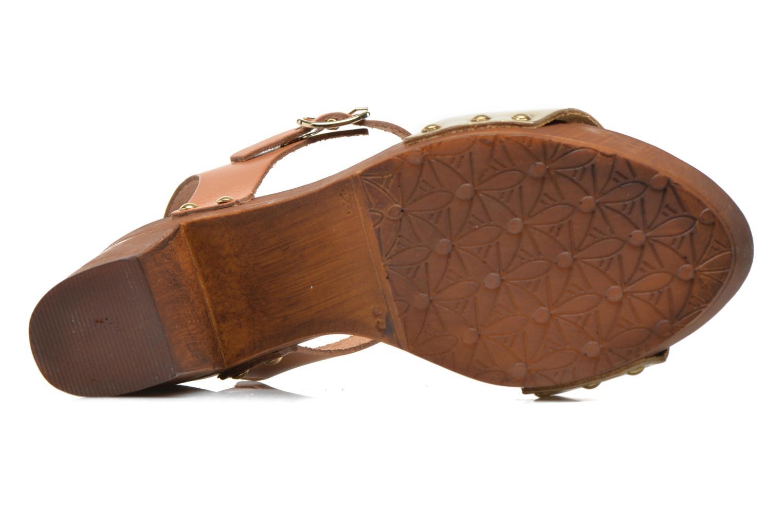 Sandalen Made by SARENZA Discow Girl #8 braun ansicht von links