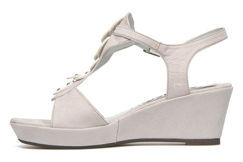 Sandales et nu-pieds Madison Estreme Blanc vue face