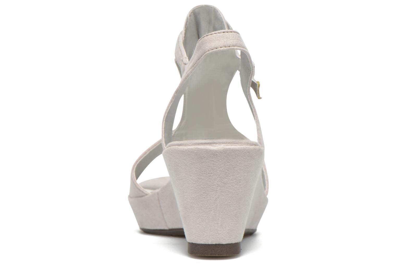 Sandales et nu-pieds Madison Estreme Blanc vue droite