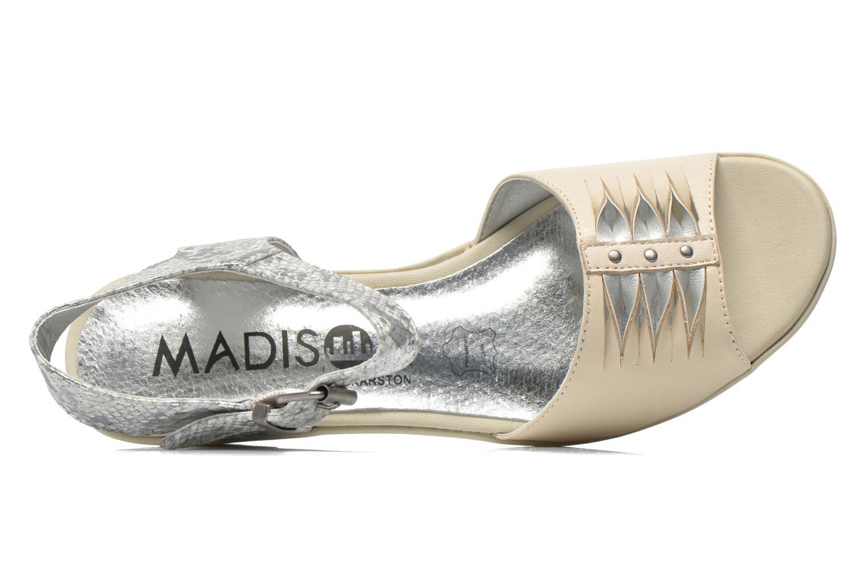 Sandalias Madison Esclin Beige vista lateral izquierda