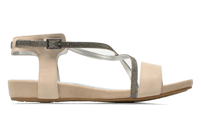 Sandales et nu-pieds Madison Emax Beige vue derrière