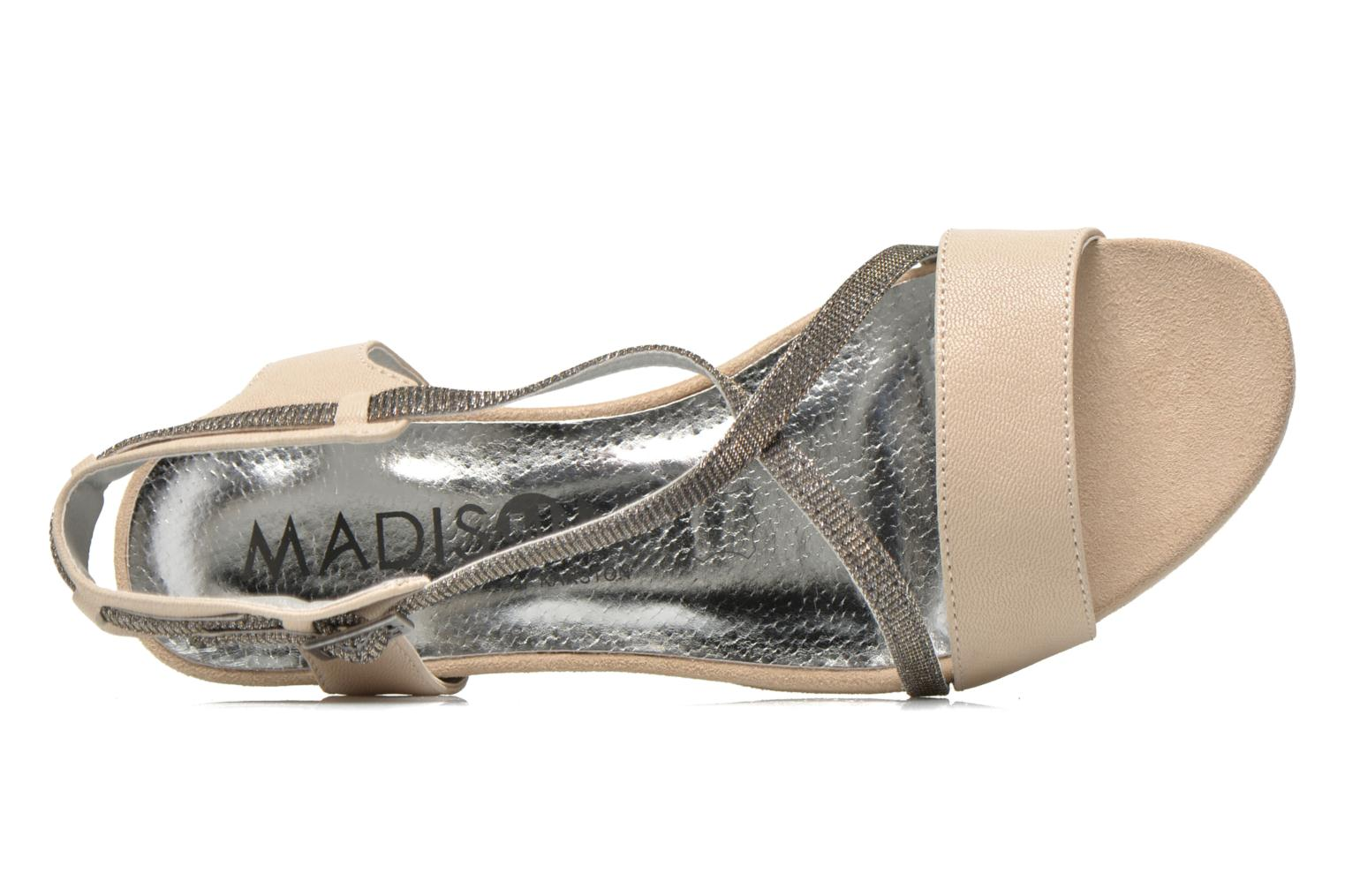Sandalen Madison Emax Beige links