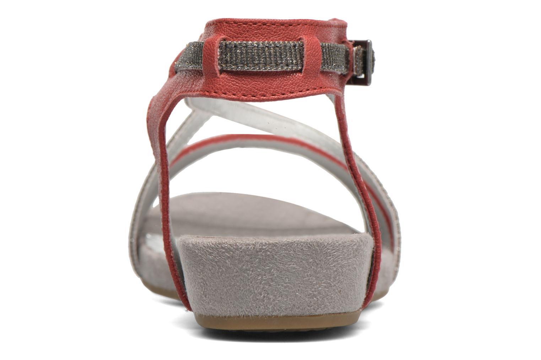 Sandales et nu-pieds Madison Emax Rouge vue droite