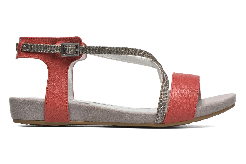 Sandales et nu-pieds Madison Emax Rouge vue derrière
