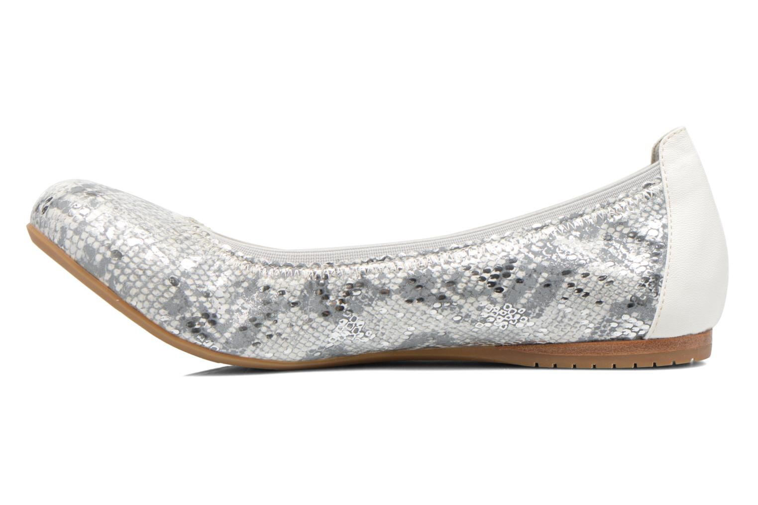 Ballerines Madison Claxin Argent vue face