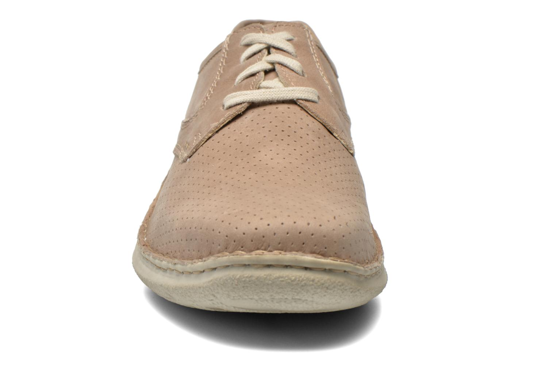 Lace-up shoes Josef Seibel Anvers 43 Beige model view