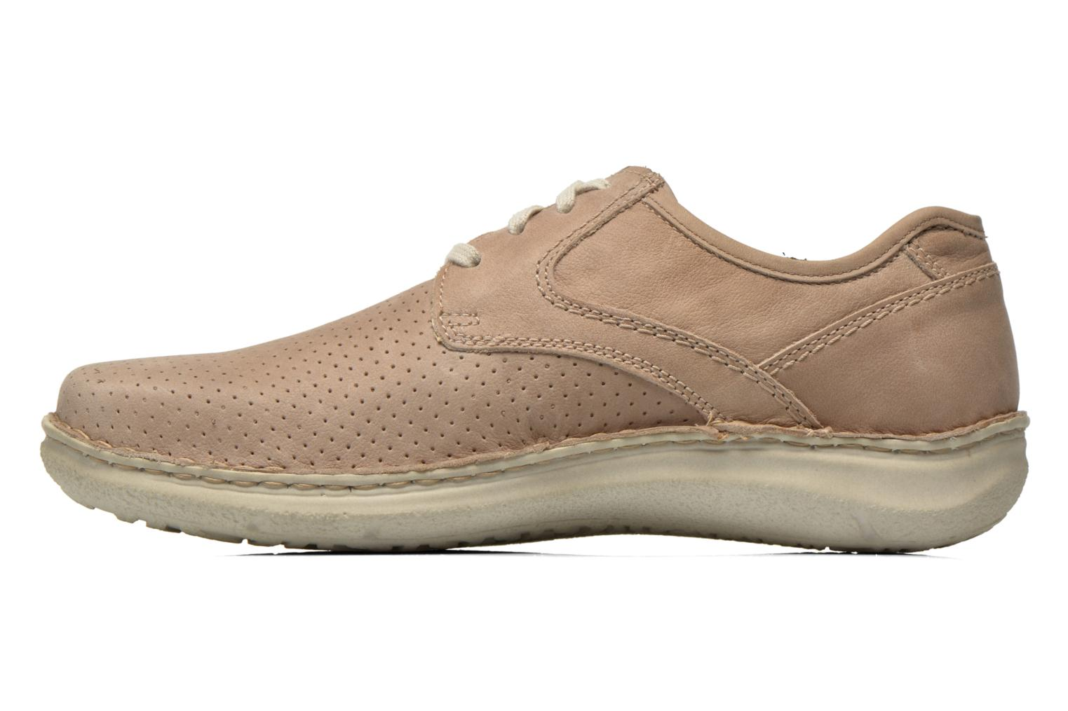 Lace-up shoes Josef Seibel Anvers 43 Beige front view