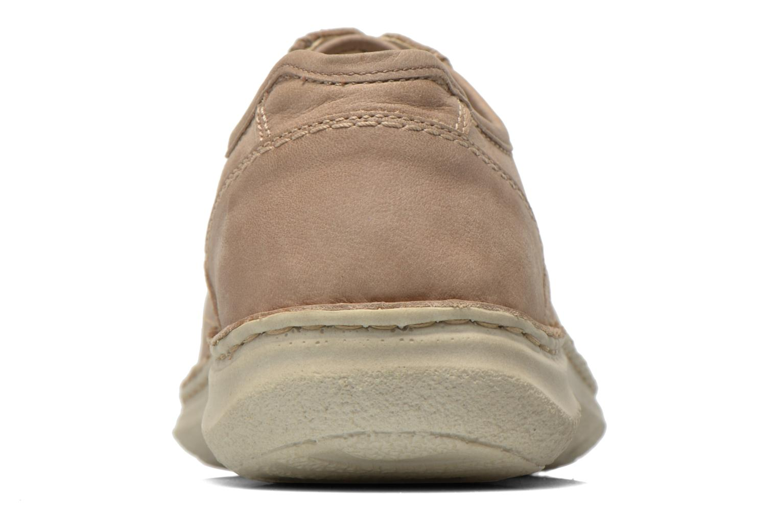 Lace-up shoes Josef Seibel Anvers 43 Beige view from the right