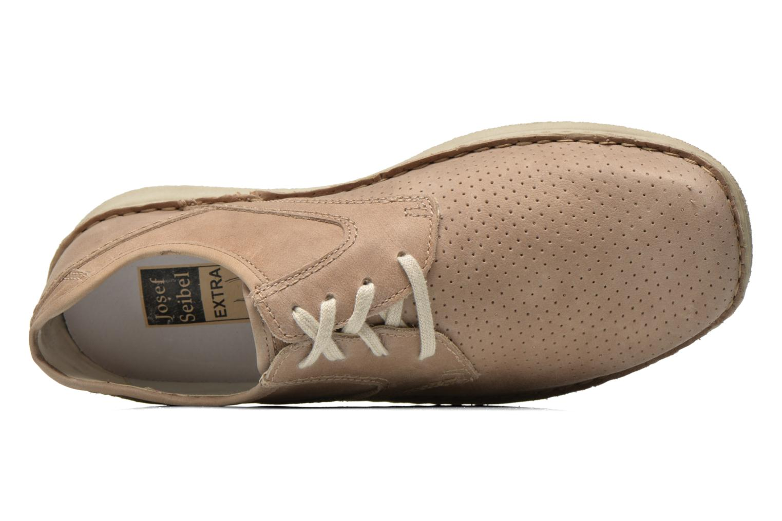 Lace-up shoes Josef Seibel Anvers 43 Beige view from the left